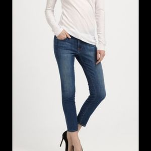 Genetic Denim The Ava Split Seam Crop Cig Jean